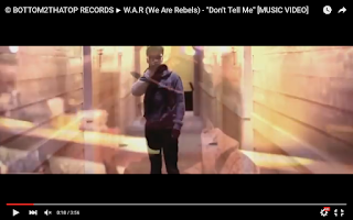 Video: W.A.R - Don't Tell Me