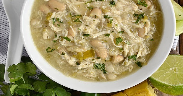 Yummy Recipes: Crock Pot White Chicken Chili Recipe