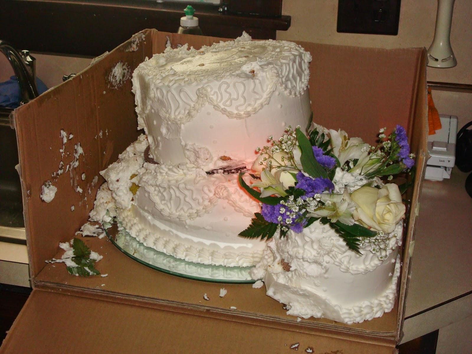 occasional baker brynn and brandon s wedding cake