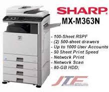 NEW DRIVERS: SHARP MX M363