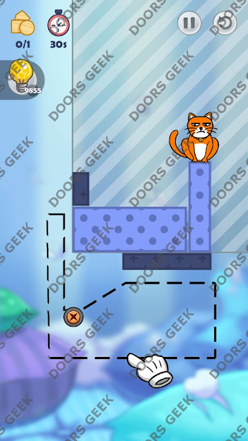 Hello Cats Level 79 Solution, Cheats, Walkthrough 3 Stars for Android and iOS