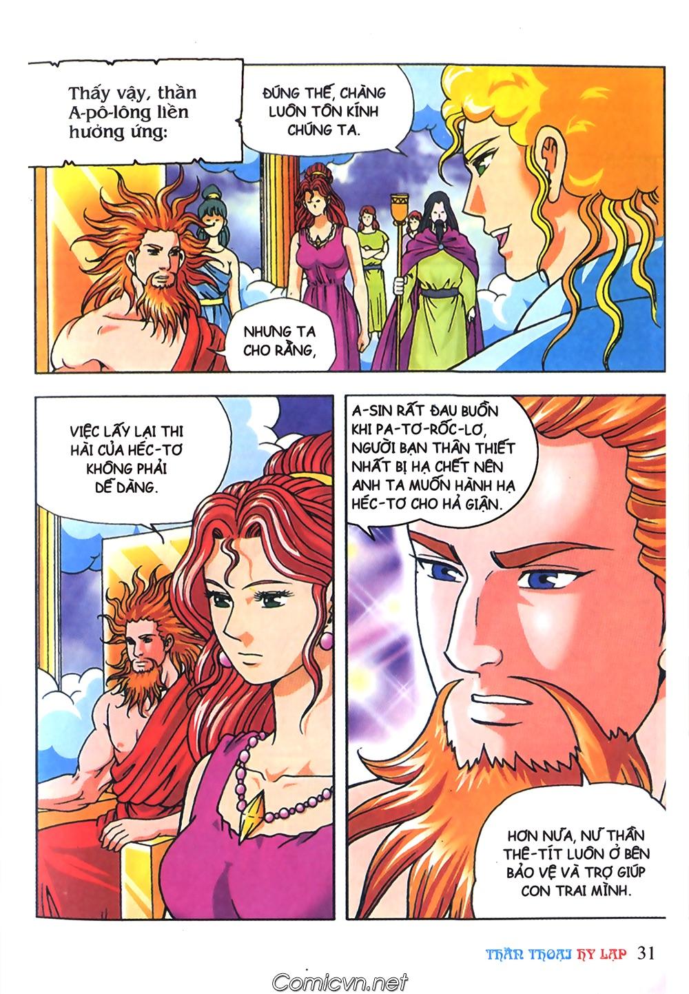 Thần Thoại Hy Lạp Màu - Chapter 63: Lão vương Pri am chuộc xác con - Pic 5