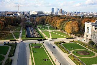 Parc du Cinquantenaire in Brussels