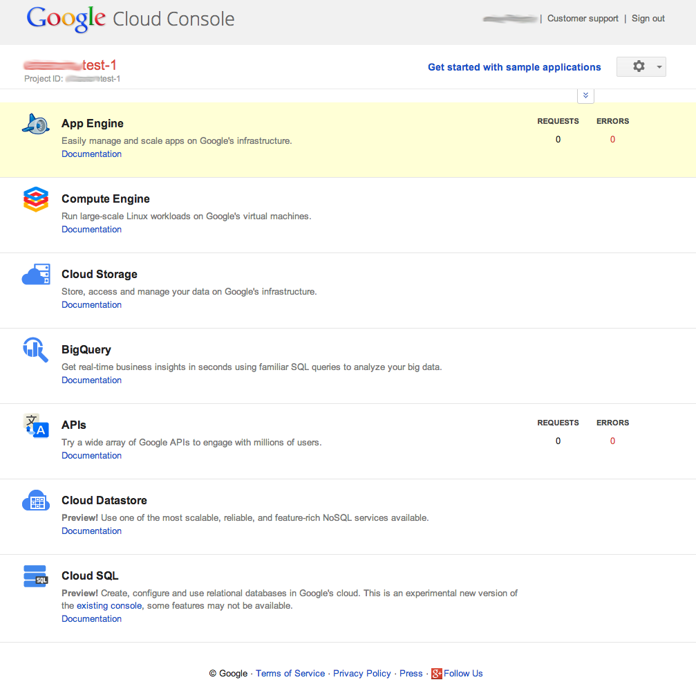 Blog @vierjp : 37 Google Cloud Datastoreを試してみた GCE編 (2/3)