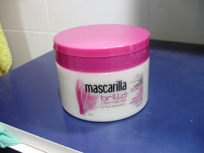 mascarilla brillo diamante deliplus