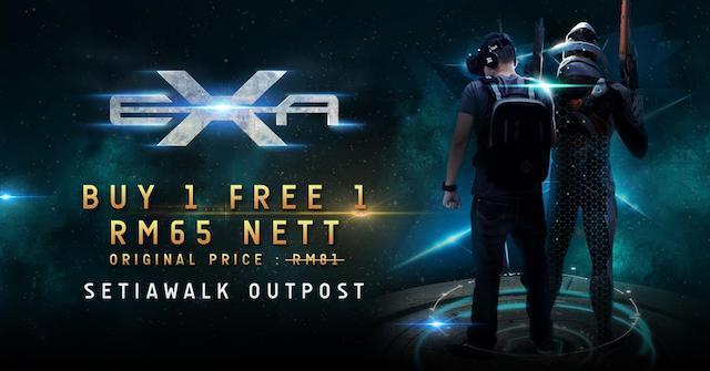 Pre-opening promotion, RM65 Nett