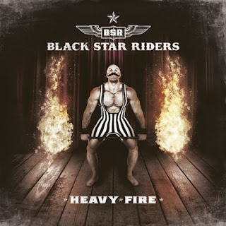 "Το lyric video των Black Star Riders για το τραγούδι ""Cold War Love"" από το album ""Heavy Fire"""
