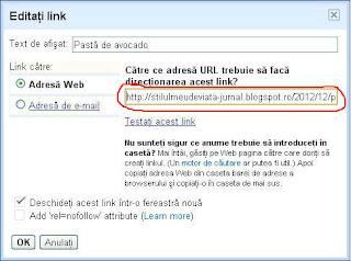 editare link