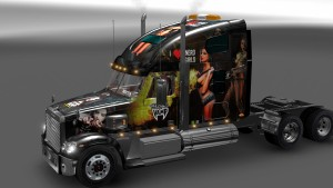 Freightliner Coronado truck tested on 1.27