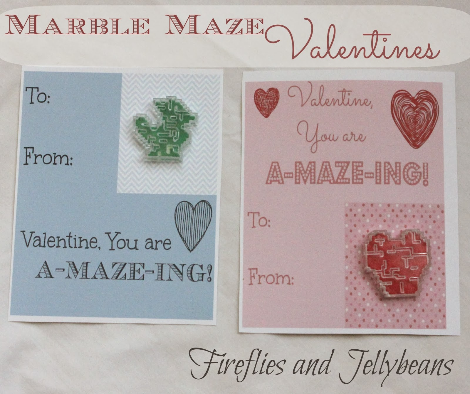 Fireflies And Jellybeans 3 Non Candy Dollar Store Valentines With Printables