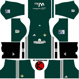 Real Betis  Kits 2017/18 - Dream League Soccer