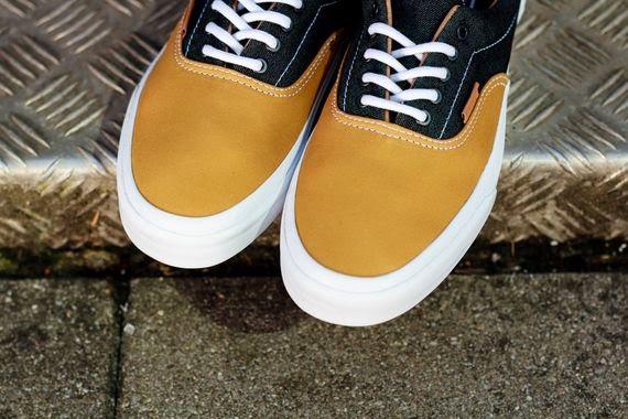 """d059672e40e Vans Era CA """"Twill Stripes"""" - Honey Mustard ~ ~ EffortlesslyFLY"""