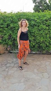 falda volantes verano