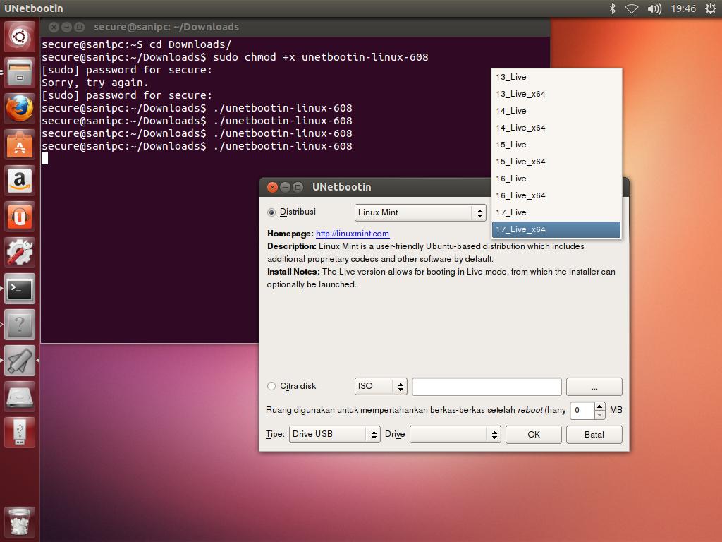 Install/Create Bootable Linux Mint, Ubuntu, Fedora, Debian ...