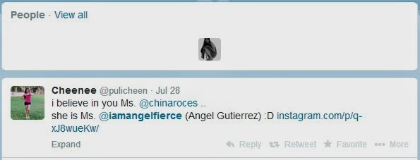 Angel Gutierrez girl in Paolo Bediones scandal - Twitter