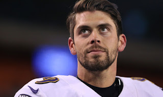 Kicker swagger: Justin Tucker hits three first-half FGs