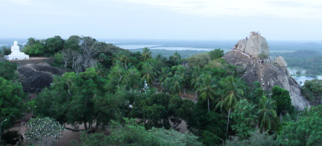 The famous hill of Mahinda - Mihinthale near Anuradhapura, Srilanka