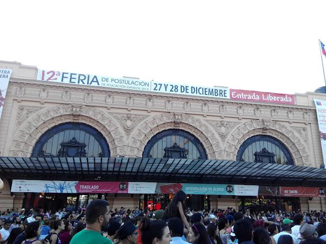 Estación de trenes Mapocho de Santiago de Chile