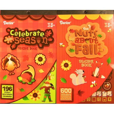 Girl Scout crafts Thanksgiving stickers