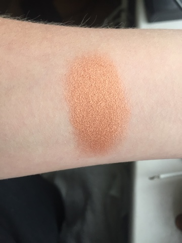 makeup revolution bronzer swatch