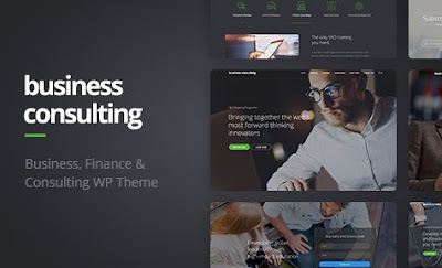Business Consulting V1.1 Coaching, Business Training Wordpress Theme