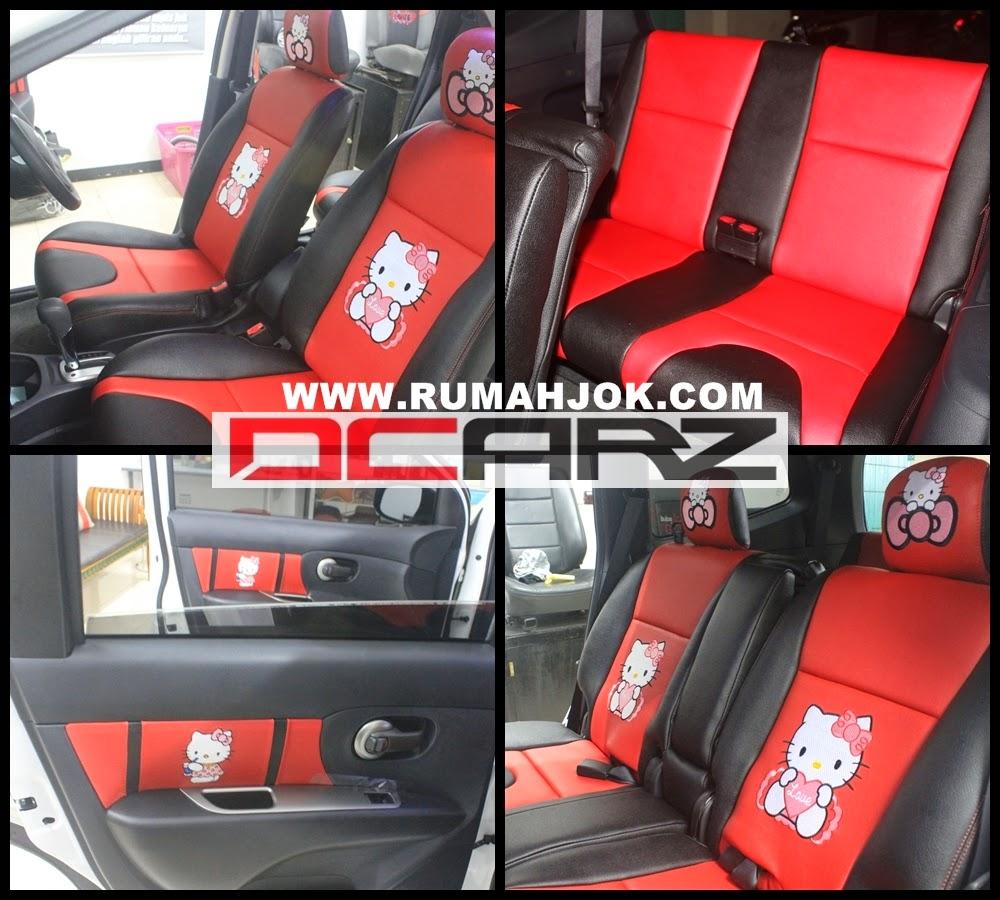 Variasi Mobil Surabaya Kedungdoro Terbaru Sobat Modifikasi Sarung Jok Jaring Motor Bermacam Warna Terlaris Pusat Di Nissan Livina X