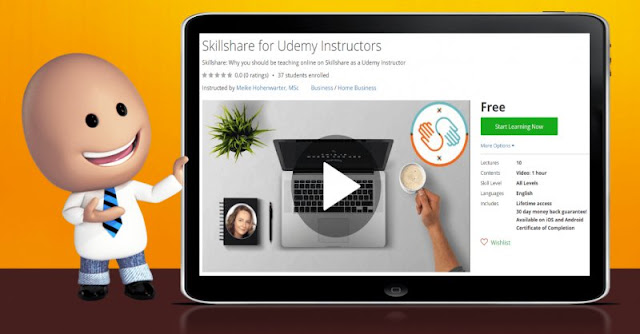 [100% Off] Skillshare for Udemy Instructors| Worth 0$
