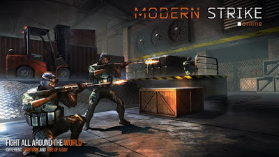 تحميل وتنزيل لعبة Modern Strike Online APK للاندرويد مجانا