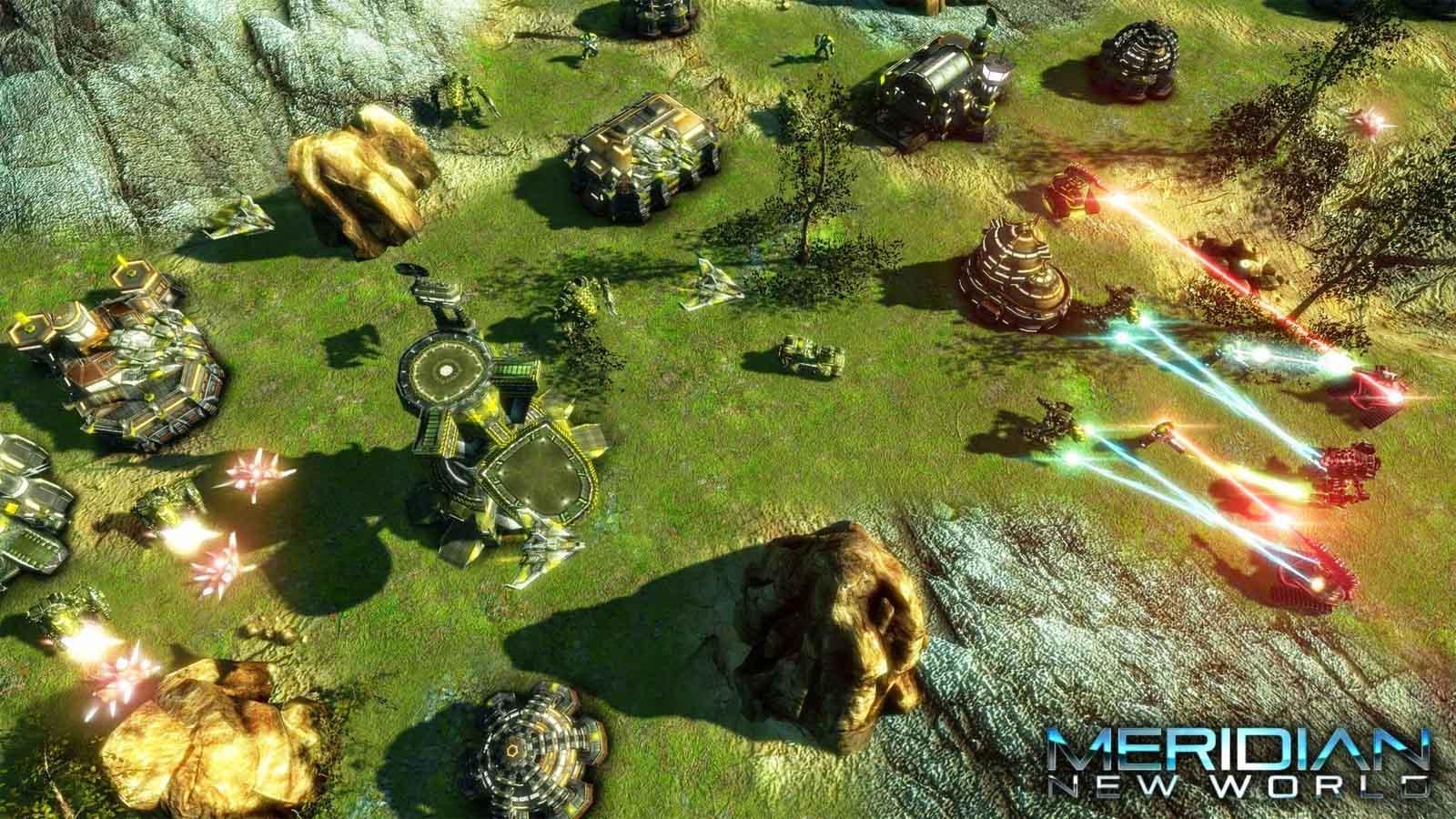 تحميل لعبة Meridian New World مضغوطة برابط واحد مباشر كاملة مجانا