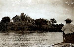 Chegada à Lagoa do Aguiar. Aracruz, ES, 18 de abril de 1950.