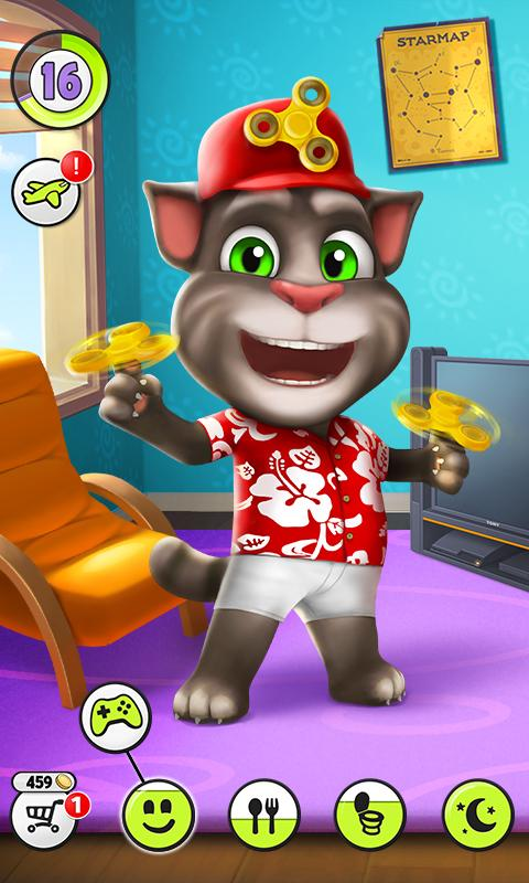 My Talking Tom MOD APK v4.4.1.28 (Unlimited Coins/More