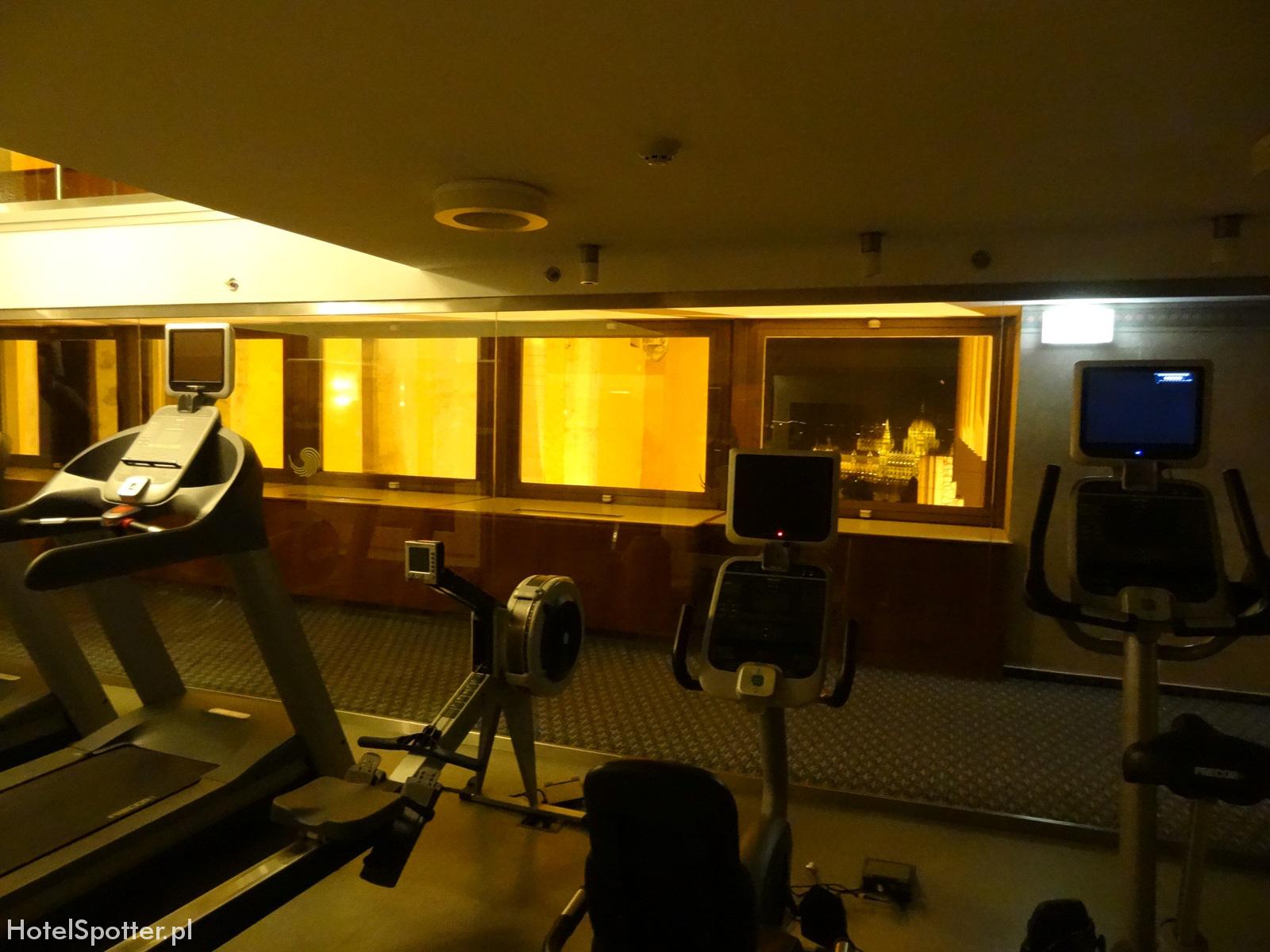 Hilton Budapest hotel recenzja review silownia gym