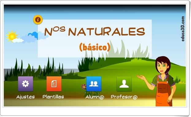 """""""Números naturales básico"""" (Aplicación expositiva e interactiva de Matemáticas de Primaria)"""