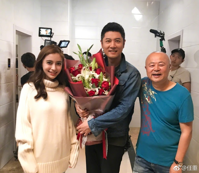 The Life Planner Filming wrap Angelababy Ren Zhong