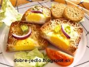 Vajíčka v hrianke - recept