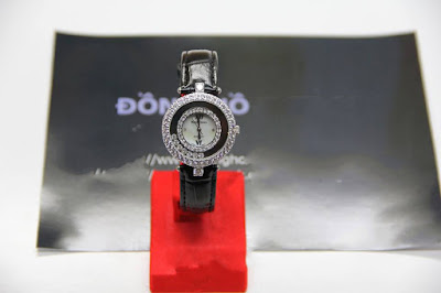 đồng hồ nữ dây da royal crow