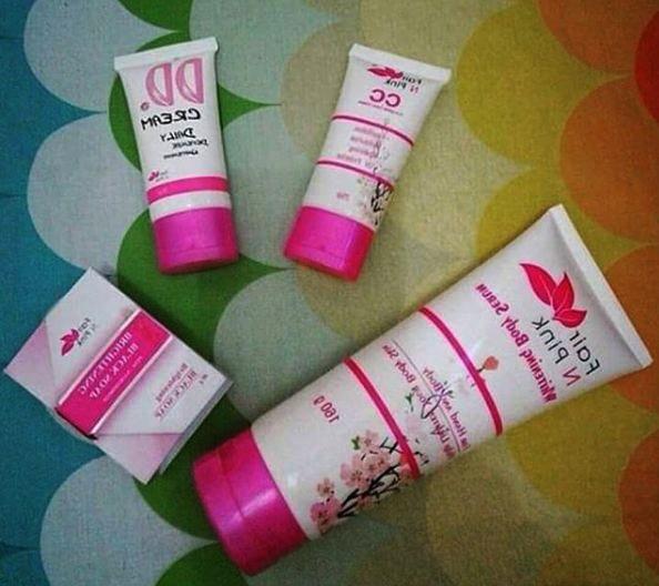 Paket Komplit Fair n Pink 4In1 BPOM