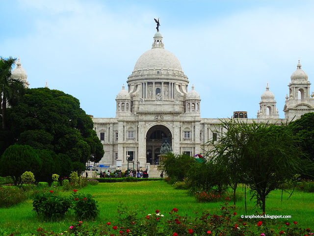 Front View of Victoria Memorial, Kolkata