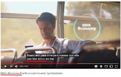 El BBVA habla de BBVA Bconomy  como BBV adico