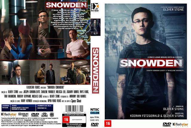 Capa DVD Snowden