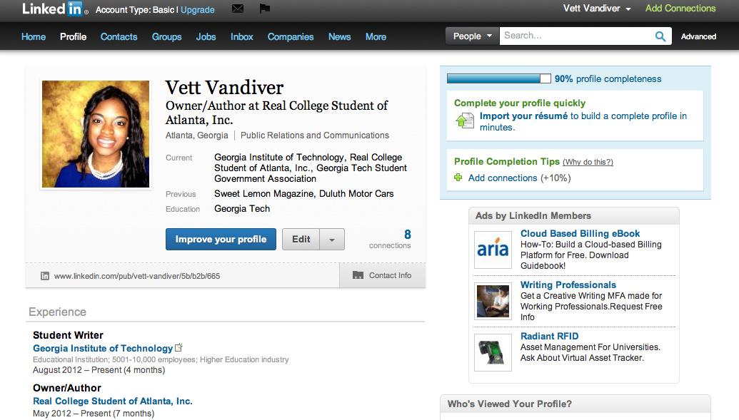 7cf69a318fe Real College Student of Atlanta  I am now  LinkedIn