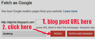 how to ask Google recrawl your URLS