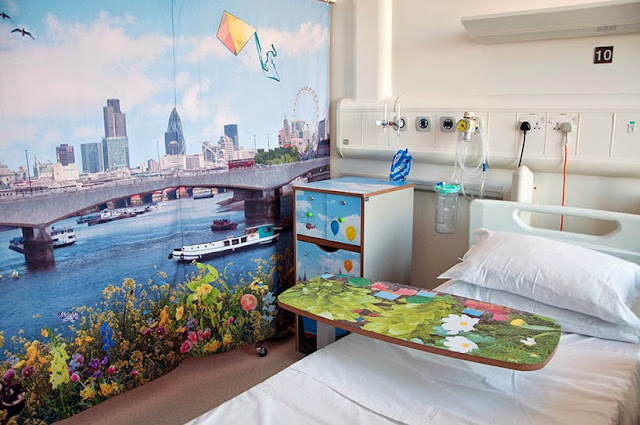 Ideas creativas para decorar la pared, decoracion de interiores, diseño de paredes, Decoración hospital para niños,