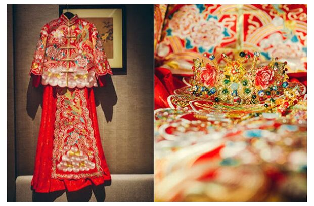 Cheongsam Chinese wedding dress