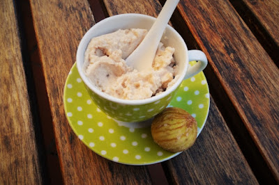 Foto crema dolce di castagne per bambini