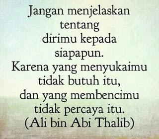 astinya mengetahu sahabat Nabi yang bernama  Kata Kata Mutiara Ali Bin Abu Thalib