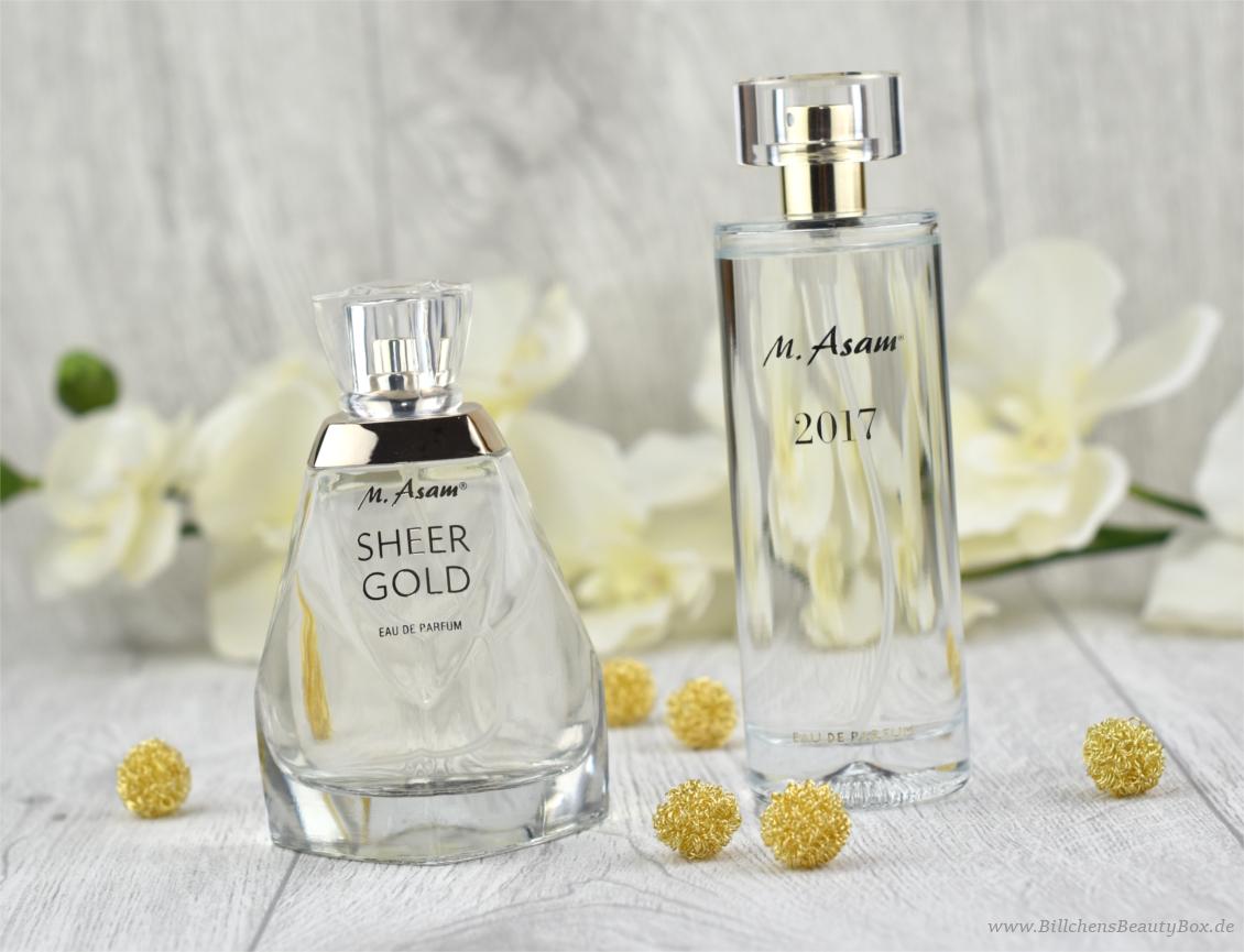 M. Asam - Sheer Gold & Jahresduft 2017