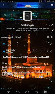 Donwload BBM Mod Ramadhan v2.13.1.14 APK Clone 2017