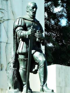 Don Pedro de Mendoza, Parque Lezama, Buenos Aires