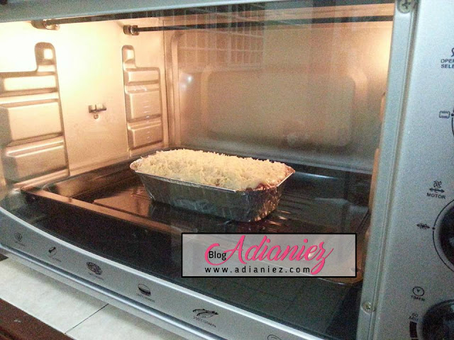 Lasagna Roti Dengan Butterfly Electric Oven (B-5243) 43L